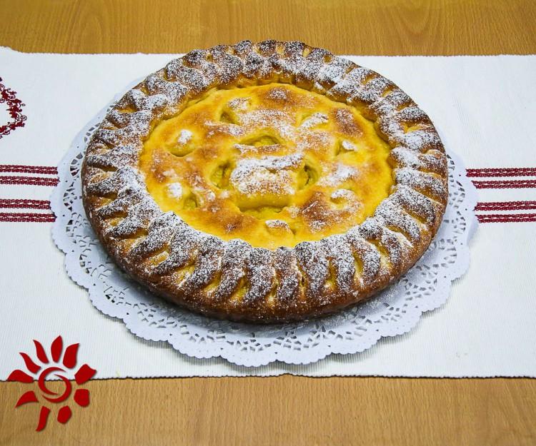 Пирог с супов